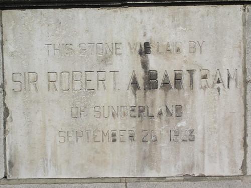 Sir Robert A Bartram, Park Presbyterian Church 1923, Middlesbrough
