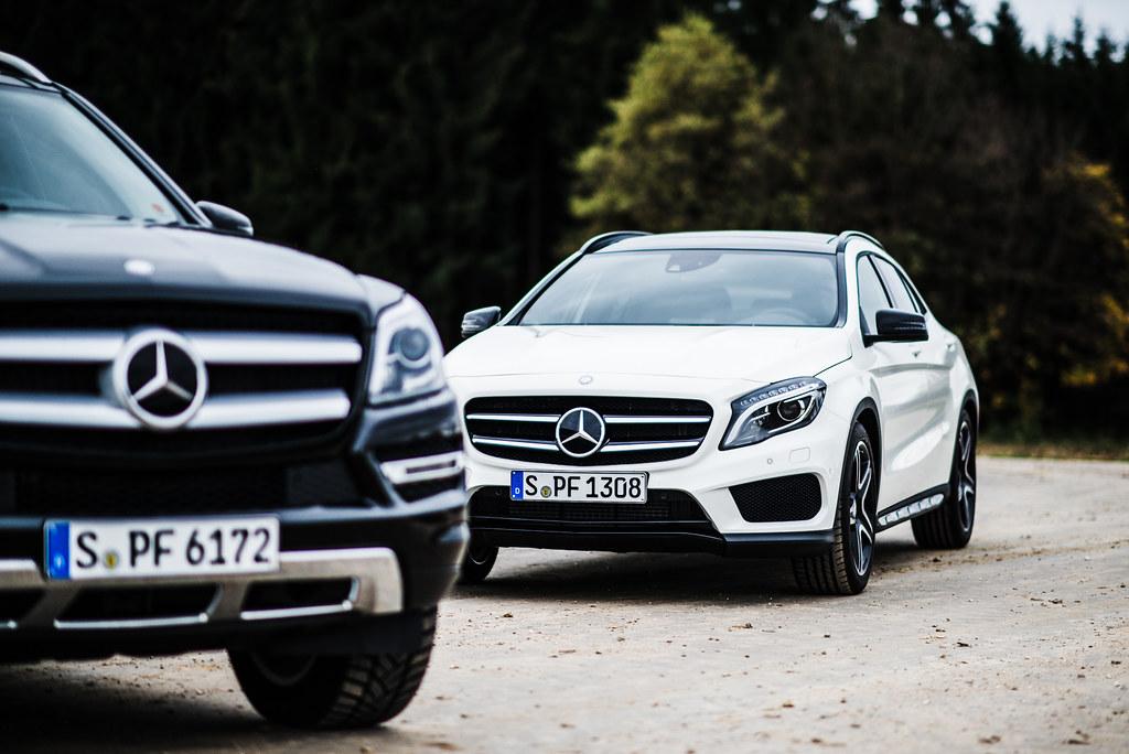Mercedes-Benz GL and GLA