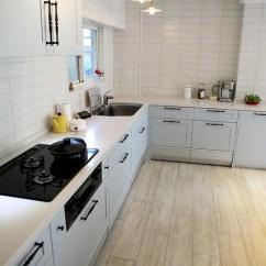 Tile Kitchen Floor Islands 裝潢 廚房裝修工程 結婚 幸福 痞客邦 而且後來還好有臨時踩煞車把廚房的地板改成磁磚材質