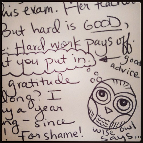 Wise #owl doodle...