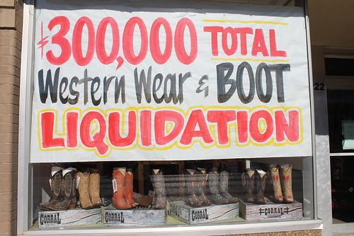 Boot Liquidation