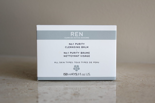Ren No. 1 Purity Cleansing Balm review