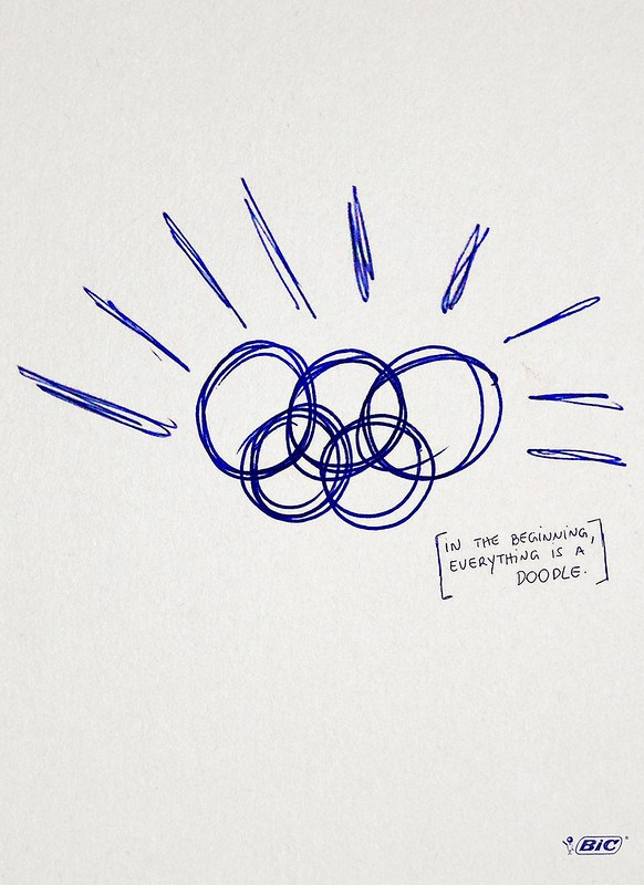 Bic Pen - In the beggining, everything is a doodle Olympic Games