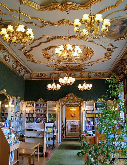 Audley End bookstore gift shop