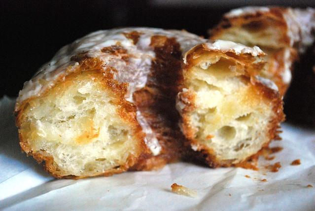 Glazed Croissant cross section
