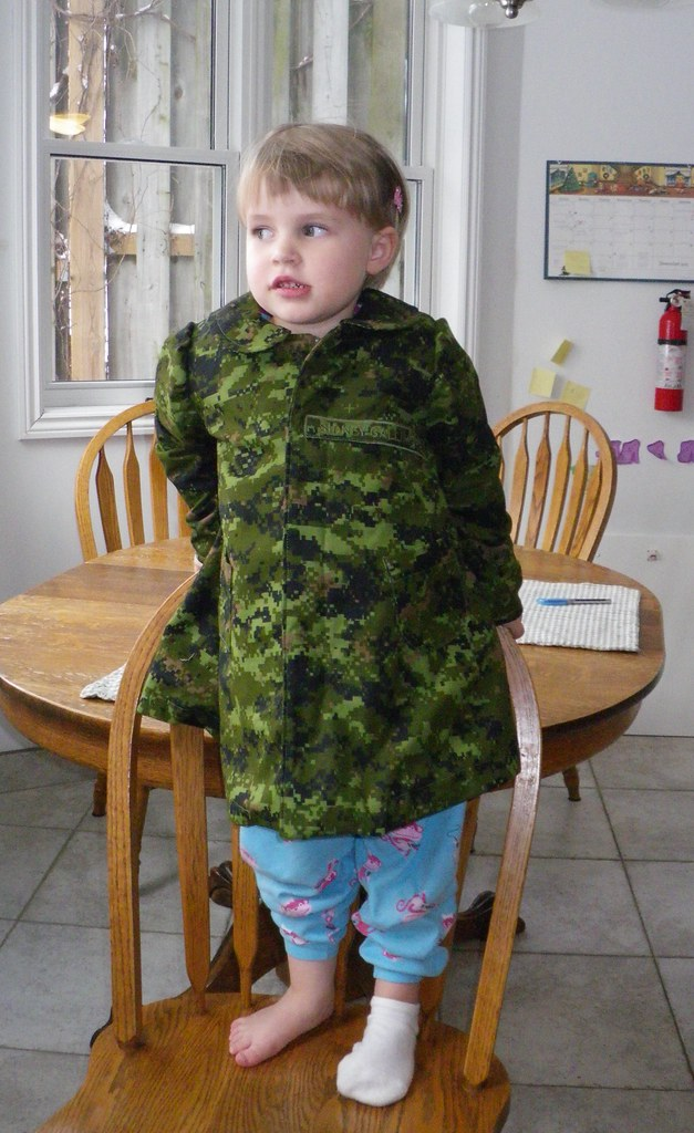 Camo jacket for Sidney