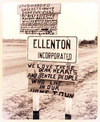 Ellenton Sign