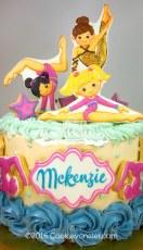 Acro Dance Cake