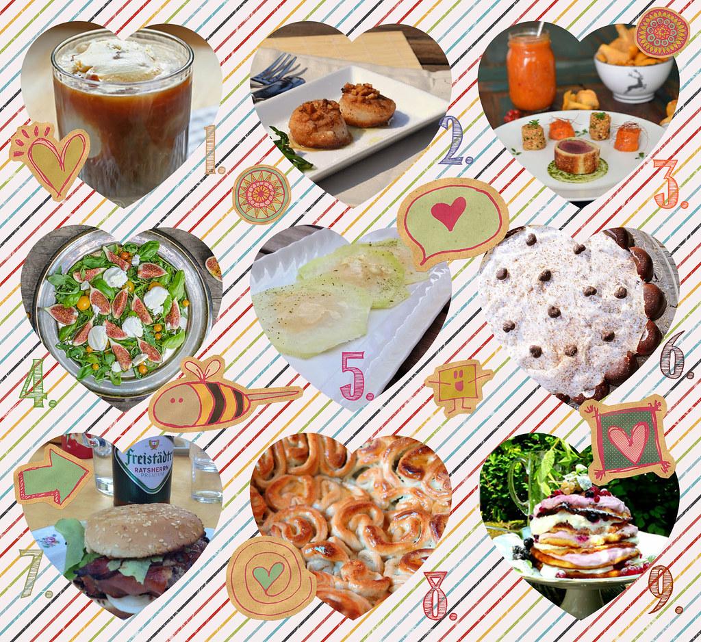 in den töpfen der österreichischen foodblogger: august