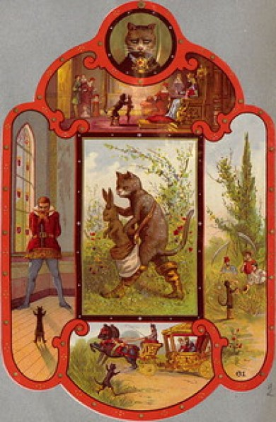 Puss in Boots - Illustrations from 1885