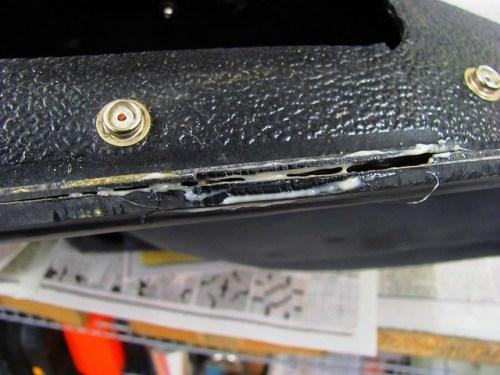 Hotcha Adhesive Inside the Crack