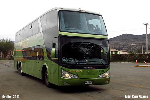 Tur Bus - Ovalle (Chile) - Modasa Zeus / Mercedes Benz (FWKG85)