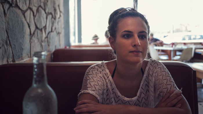Megan at Kings Highway Diner at Ace Hotel