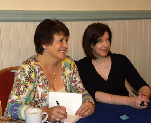 Linda Strachan and Sophie McKenzie