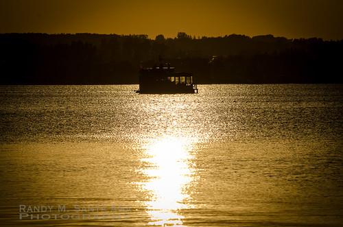 Ferry Sunset.