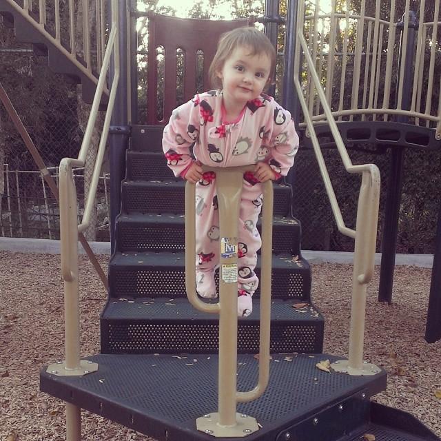 Acrobat baby