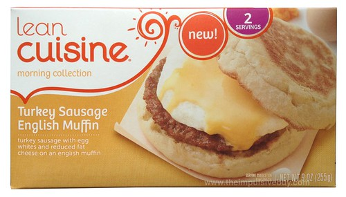 Lean Cuisine Morning Collection Turkey Sausage English Muffin