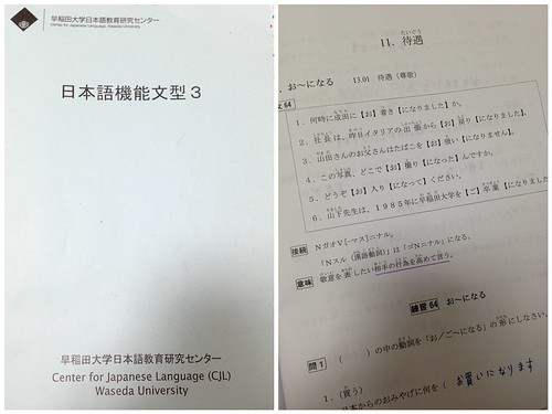 Japanese sentence class