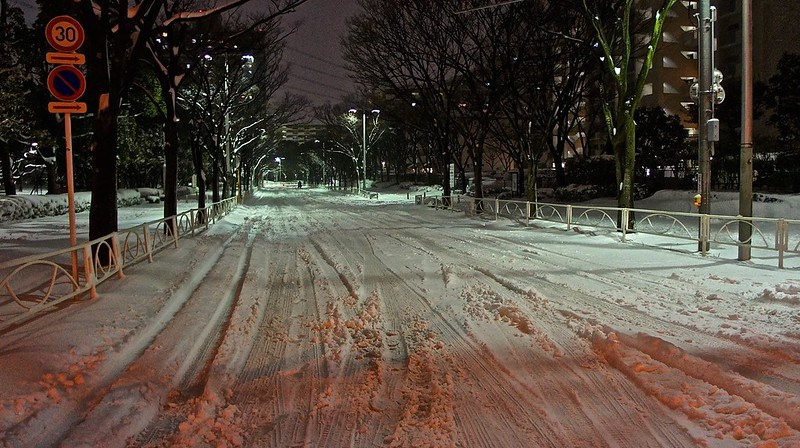 Road in Seishin cho