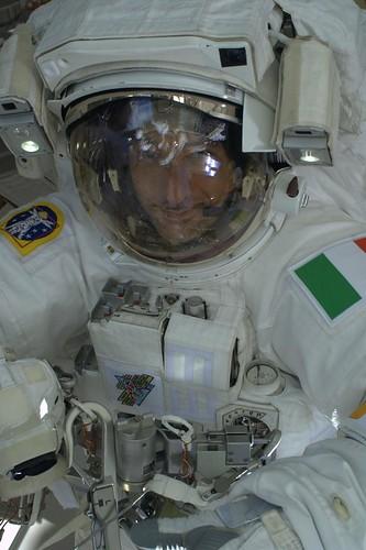 Luca Parmitano - Immagine tratta dal suo blog
