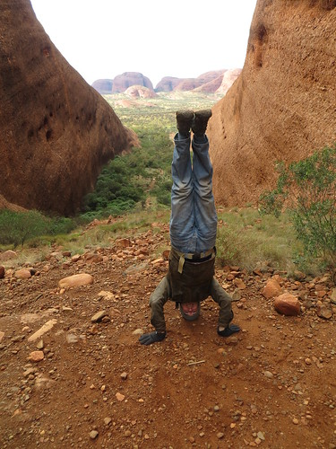 61. the olgas headstand