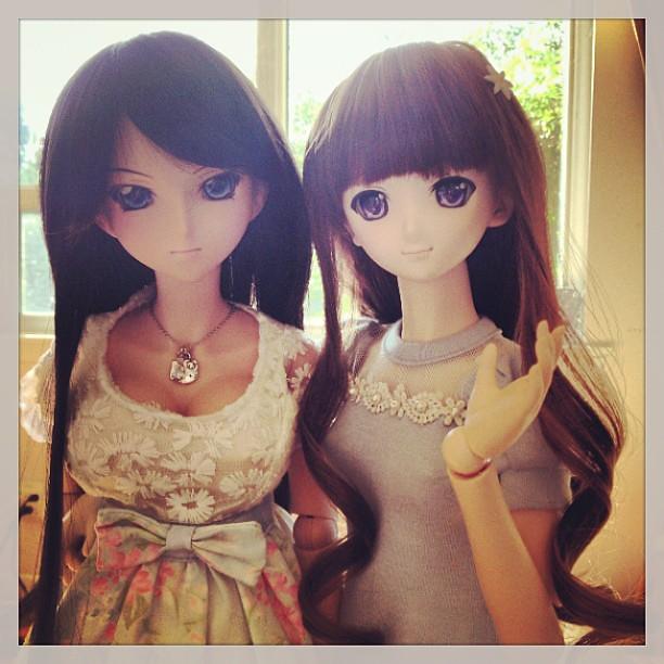 Morning glow with Kanu & Sakura