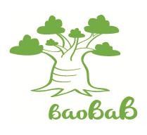 Baobab_logo, ropa ecologica bebe