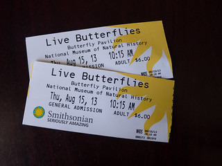 Butterfly Tickets