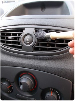 Auto binnenkant carwash