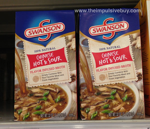 Swanson Chinese Hot & Sour Flavor Infused Broth