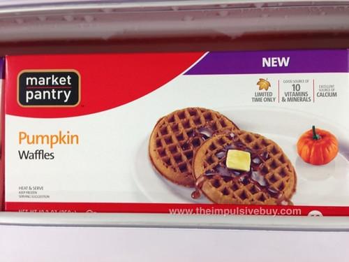 Market Pantry Pumpkin Waffles
