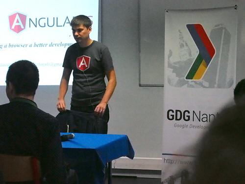 DevFest 2013 : introduction à Angular JS par Pawel (3)