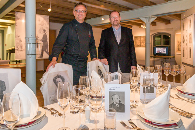 Volkhard Nebrich und Josef Matzerath