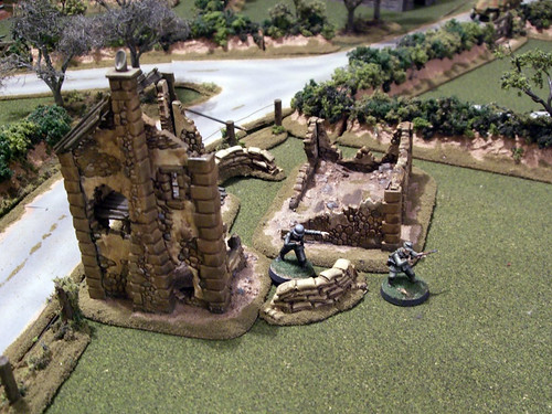 WW2 Normandy Wargame Terrain