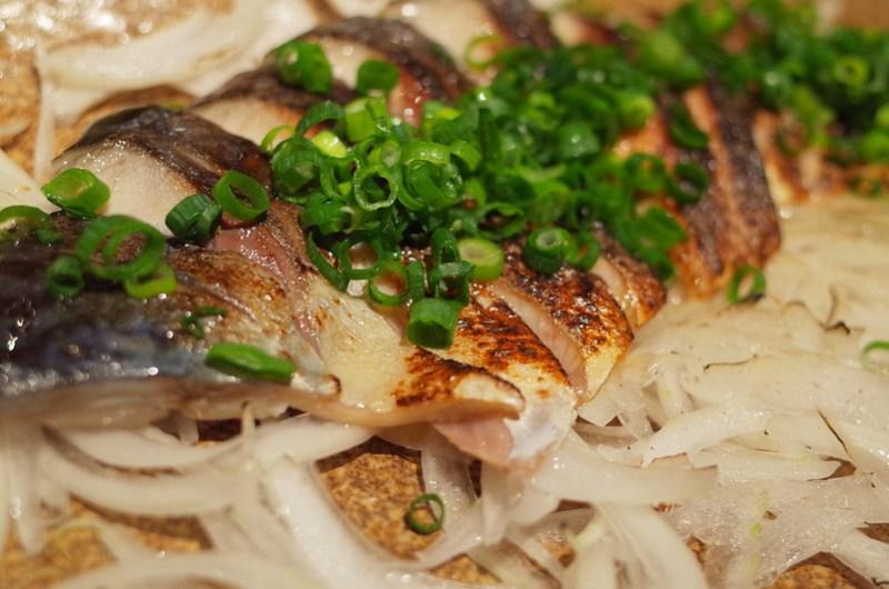 grilled chub mackerel