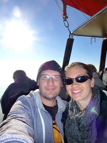 With Lindsey in the sky