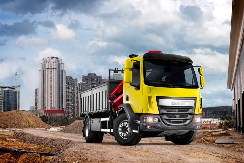 грузовой DAF LF Euro 5 для строительства