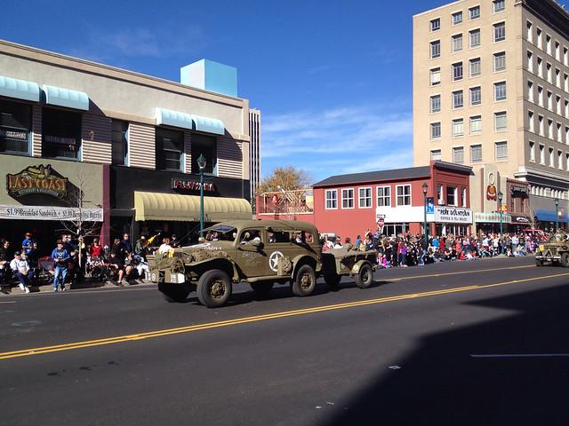 Restored World War II Era Army Vehicle