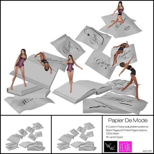 W. Winx & Flair - Papier De Mode - Vendor Image
