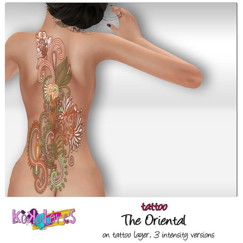 [KoKoLoReS] tattoo - The Oriental