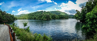 Bear Creek lake Landing Panorama