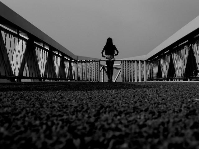 Naomi at Scheveningen boulevard.