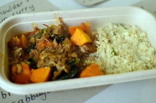 Lamb & pumpkin curry