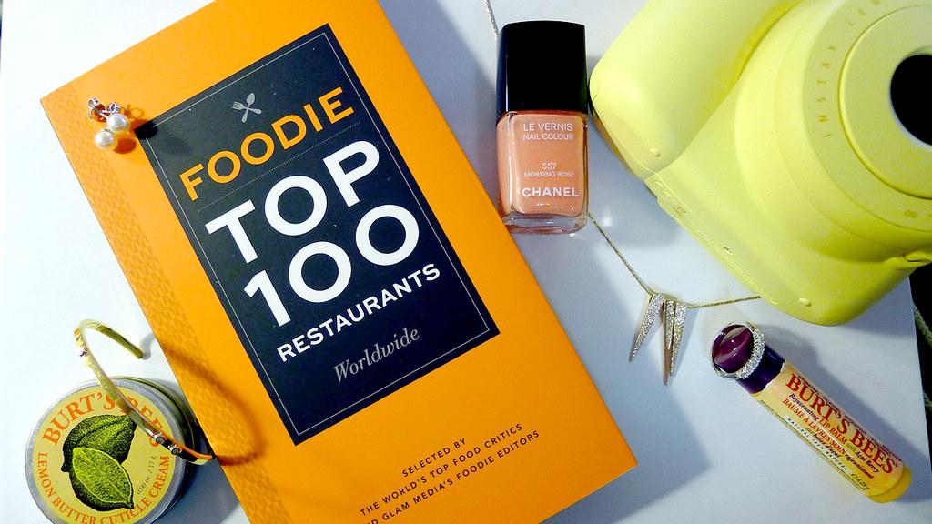 Foodie Top 100 Restaurant Book
