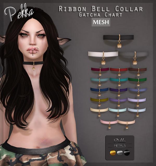 pekka ribbon bell collar
