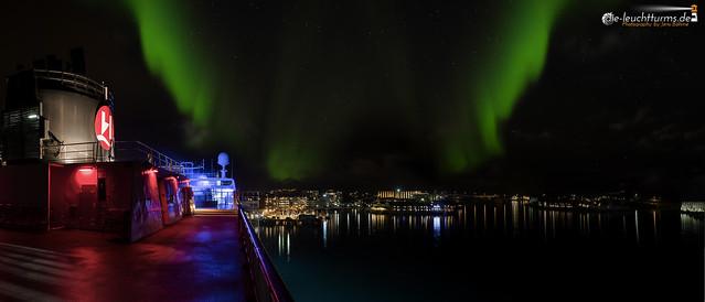 Auroras above Svolvaer