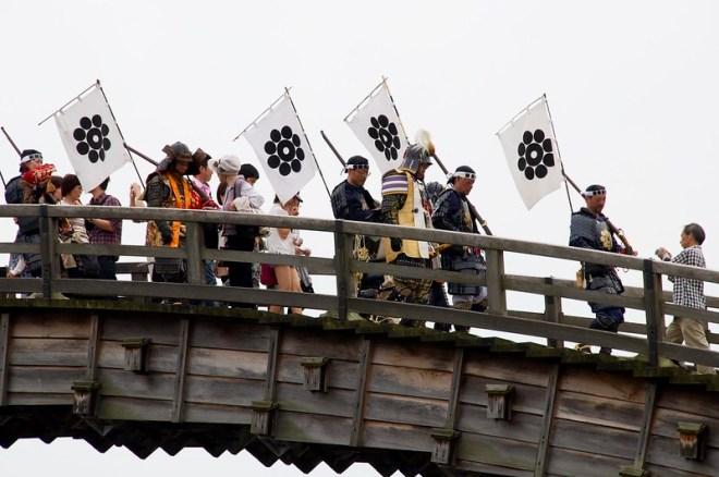 Iwakuni Kintai-kyo Bridge Festival [岩国錦祭]