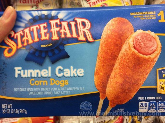 State Fair Funnel Cake Corn Dogs