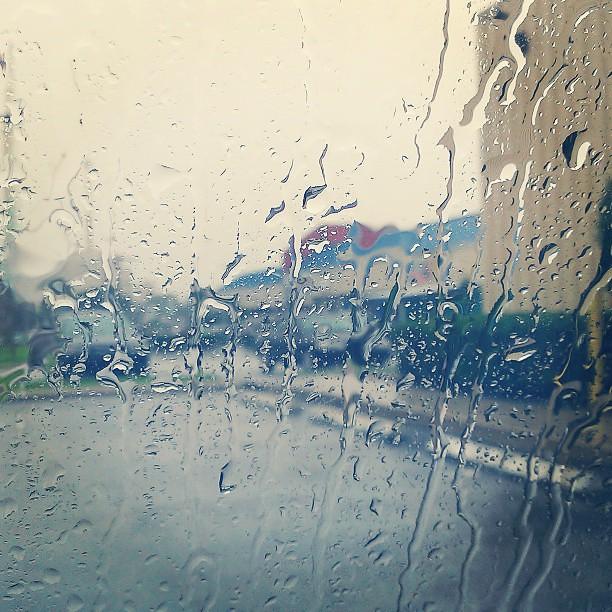 Orlando rain.