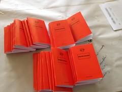 red leader booklets, summer camp